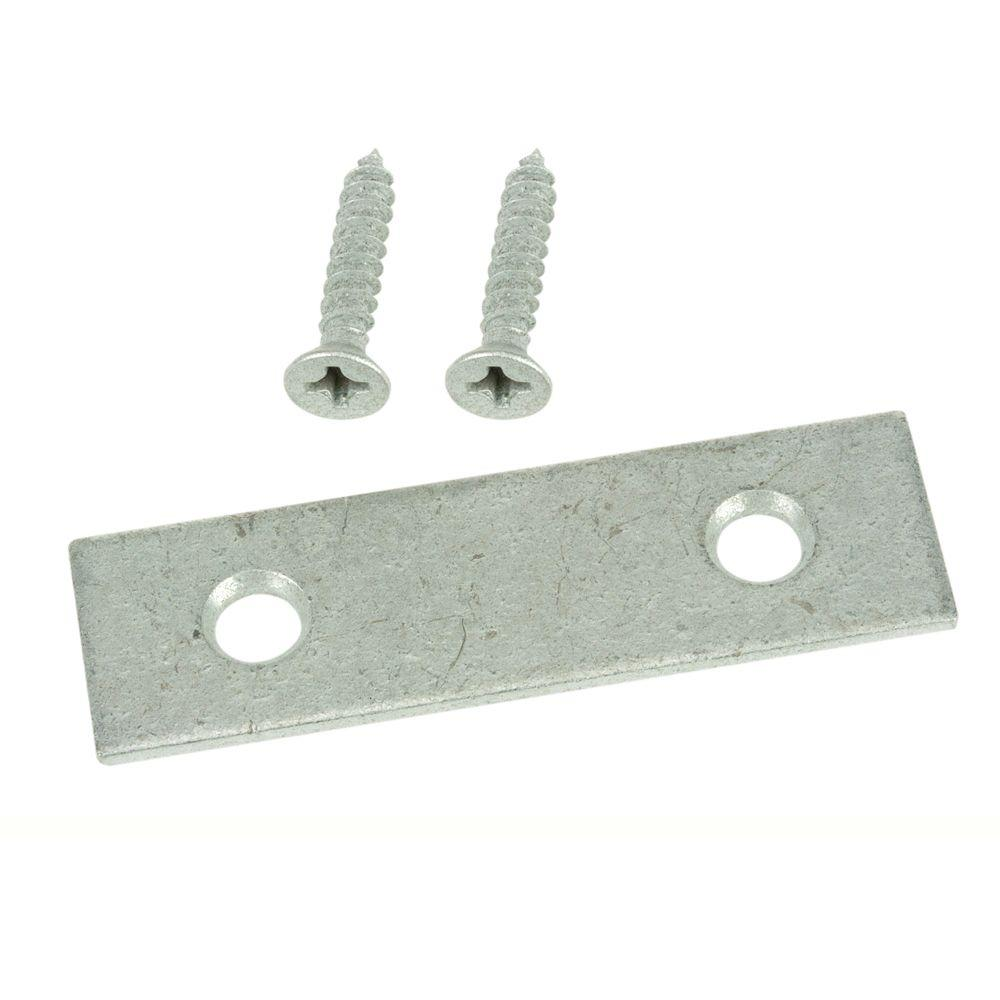 2 in. Galvanized Mending Plates (2-Pack)