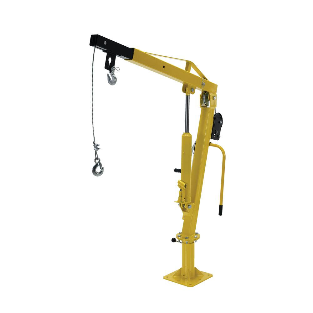 500 Ext Winch Operated Truck Jib Crane