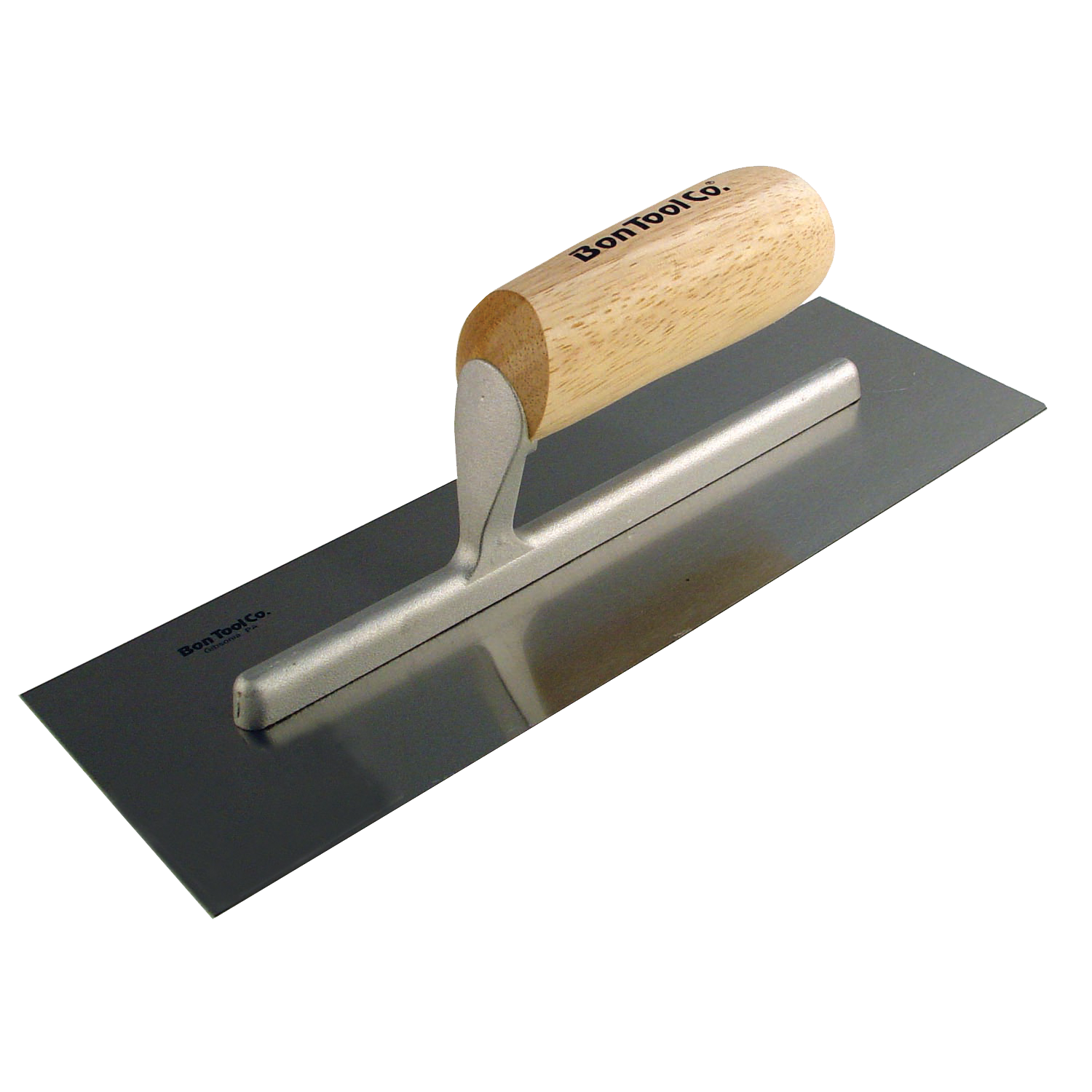 Bon 82-291 Concrete Trowel - Steel 14 inch X 4 inch with Wooden Handle